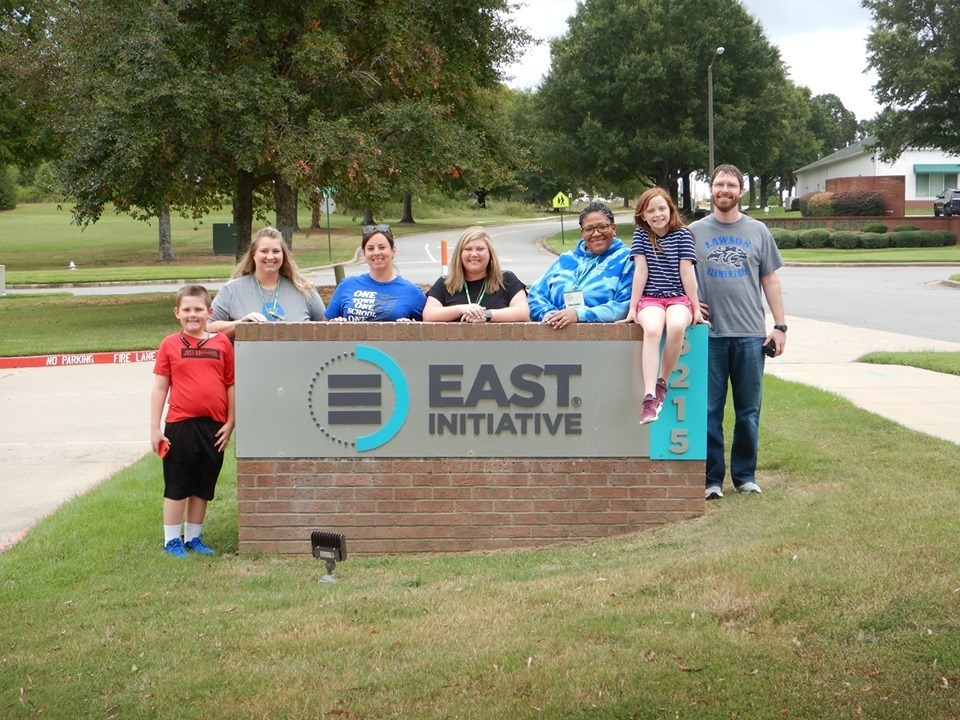 Lawson EAST visits EAST