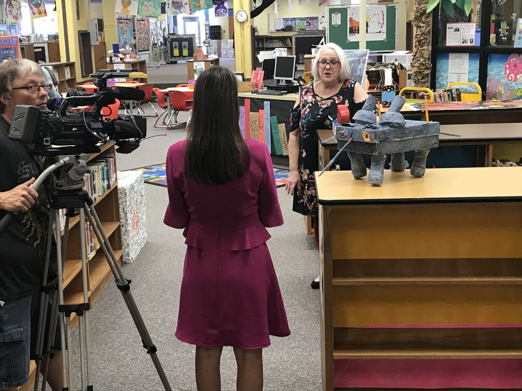 KARK interviews Landmark