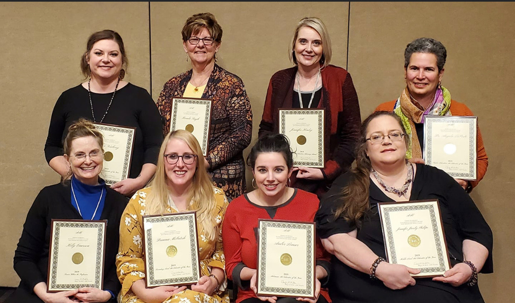 Educators with awards