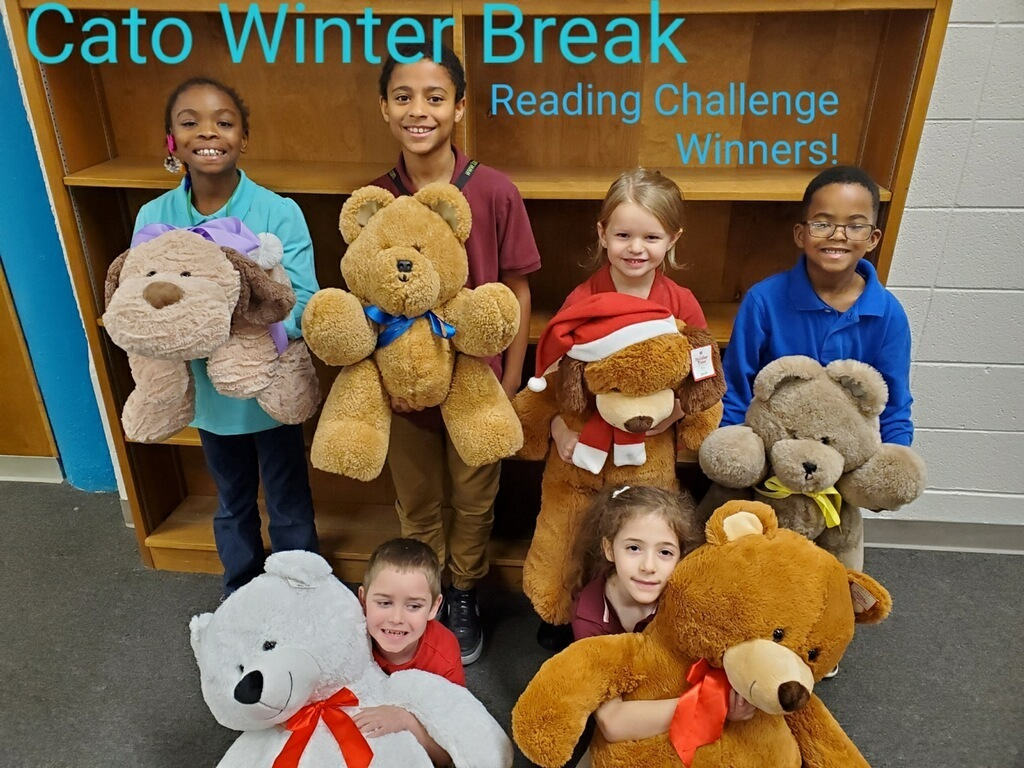 Congratulations!!  Marshmallow Winter Reading Challenge