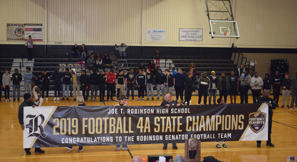 Robinson Football Championship Celebration