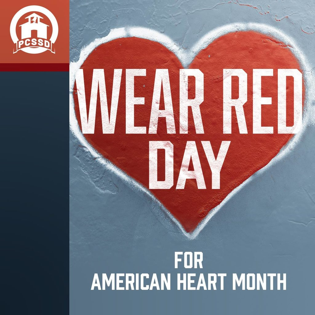 Wear Red Day for American Heart Month