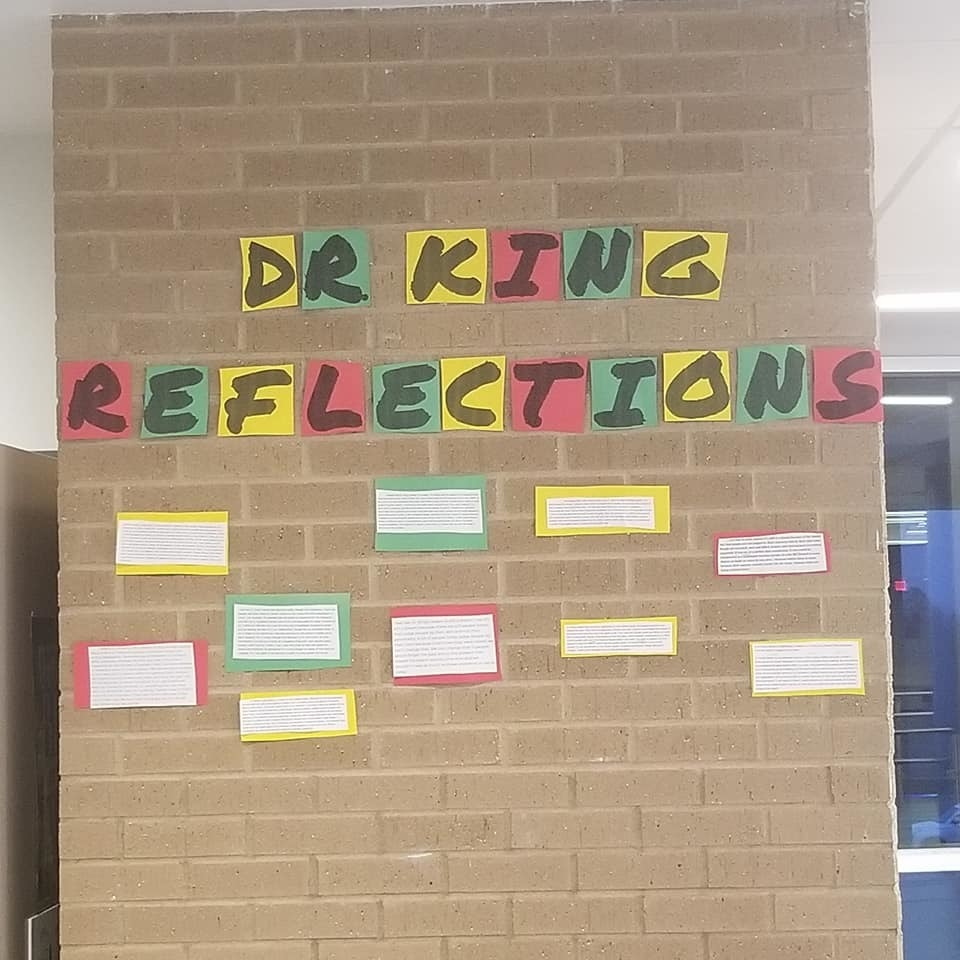 SHHS - MLK reflections