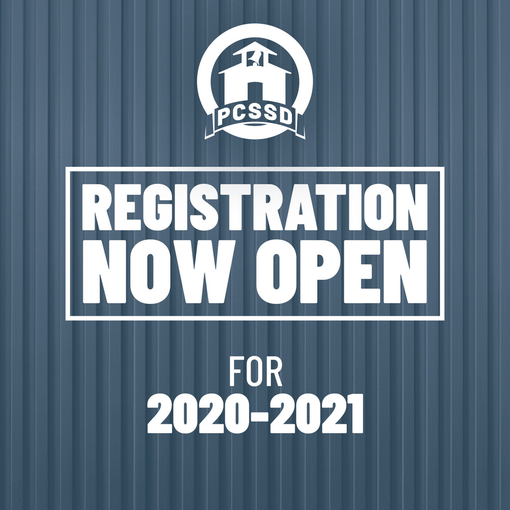 Registration now open for 2020-2021