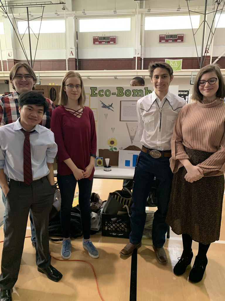 maumelle HS science fair