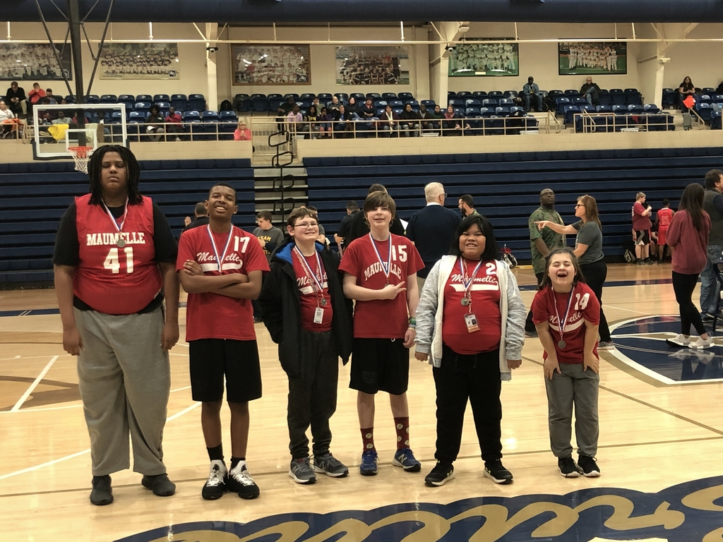 Special Olympics basketball team