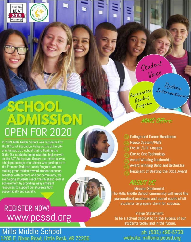 Register Now for 2020 School Year!