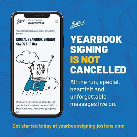 Yearbook Signing is NOT cancelled
