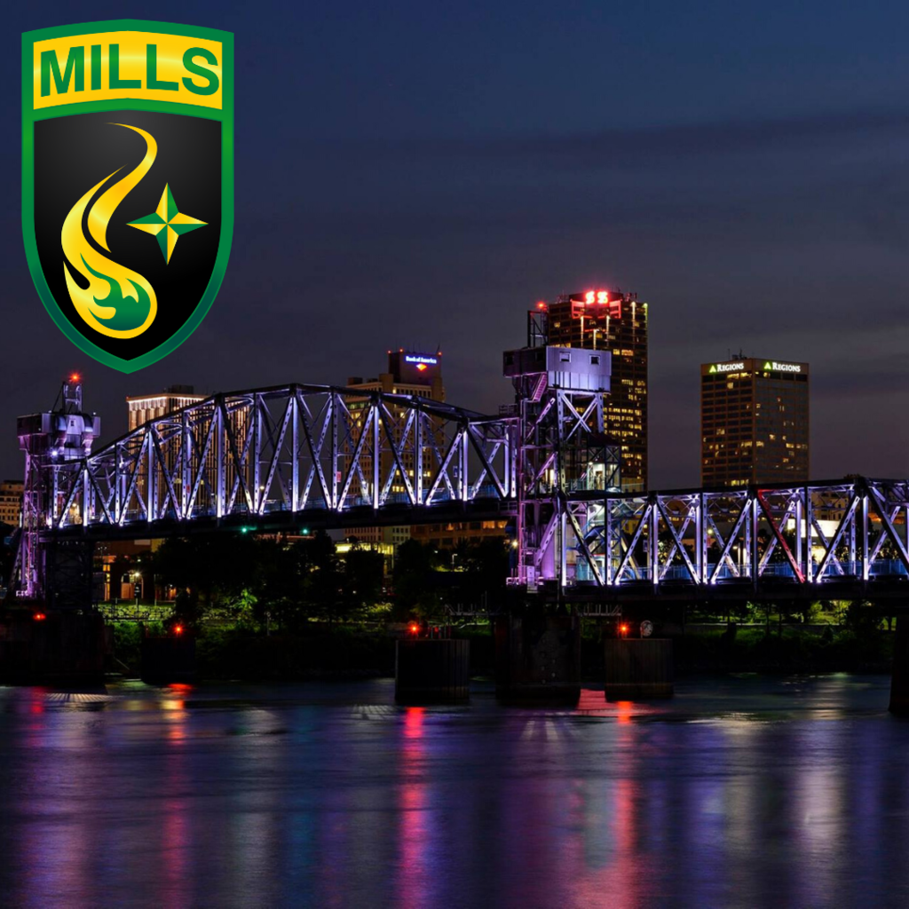 mills river lights