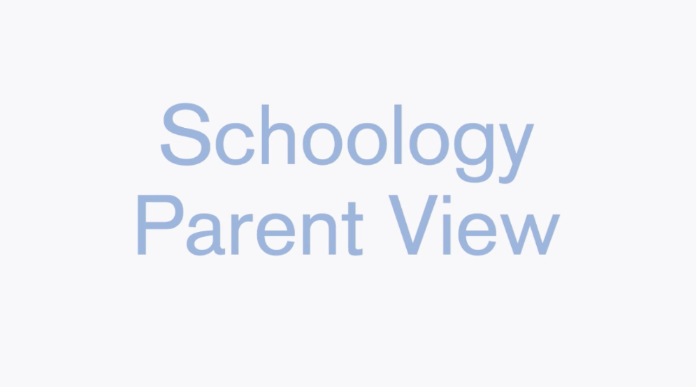 schoology parent view