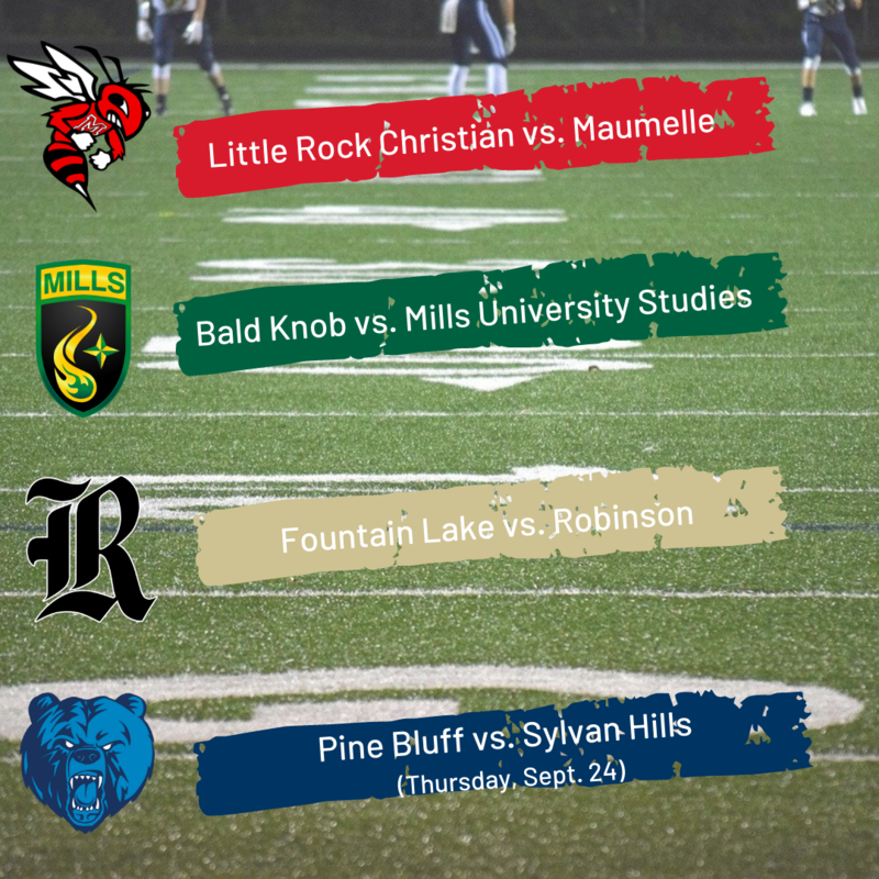 Thursday & Friday Night Football - Sept. 24 & Sept. 25